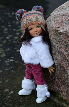 Cute Baby Dolls, Cute Babies, Handmade Clothes, Little People, Beautiful Dolls, Bjd, Doll Clothes, Winter Hats, Crochet Hats