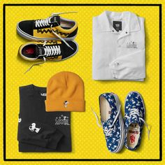 f212a37d5ef Peanuts Vans Collection 2017 Release Info