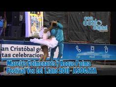 Festival vos del llano, Marelys colmenares y roque palma - YouTube
