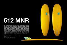 ☆ Canvas Surfboards Mini Noserider