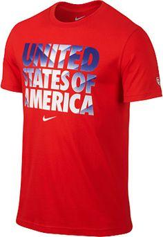 NIKE Men's USA Core Type Short-Sleeve T-Shirt