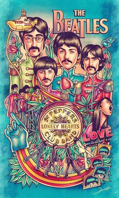 All We Need is Beatles by Renato Cunha www.burninggirl.biz