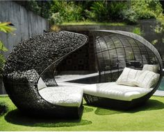 Love these Calvin and Hobbes Outdoor Lounge Chairs