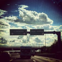 #driving #september #wayhome #route #highway #A7 Coming Back from Milan (not today)
