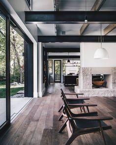 Interior Design Kitchen Colorado oasis nestled in the hills Home Design, Modern House Design, Interior Design Kitchen, Modern Interior Design, Interior Design Inspiration, Interior Architecture, Interior Decorating, Design Ideas, Decorating Ideas