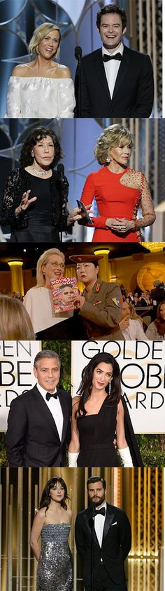 Our five favourite duos from the Golden Globes.