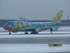 Boeing 747 Pokémon at Sapporo New Chitose Airport