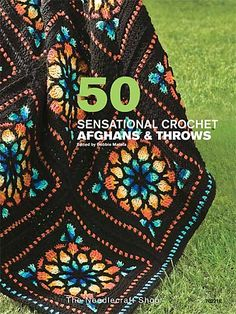50 Sensational Crochet Afghans & Throws Crochet Pattern Book Download from e-PatternsCentral.com -- This must-have book is filled with 50 popular afghan and throw patterns in a variety of today's favorite styles.
