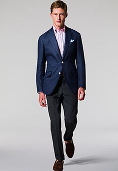 What to Wear. Garden Party. Men's clothing.