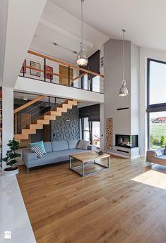 Salon styl Skandynawski - zdjęcie od DOMY Z WIZJĄ - nowoczesne projekty domów - Salon - Styl Skandynawski - DOMY Z WIZJĄ - nowoczesne projekty domów