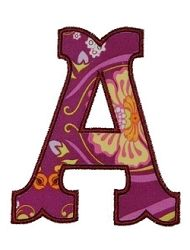 Jubilee Applique Font - 2 Sizes! | Fonts | Machine Embroidery Designs | SWAKembroidery.com