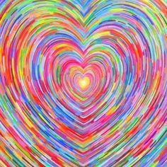 ☮ American Hippie Art Quotes ~ HEART OF COLORS
