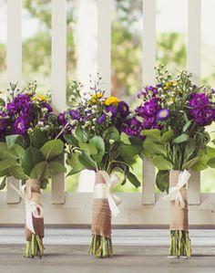 WeddingChannel Galleries: Wildflower Inspired Bouquets