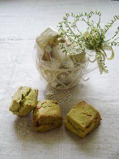 「ホワイトチョコ入り抹茶スコーン」chococo | お菓子・パンのレシピや作り方【cotta*コッタ】