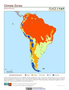 Savanna climate kppen geiger classification aw keywords climatic zones of south america sciox Choice Image
