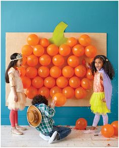 martha stewart halloween balloon pop game