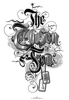 Typography in the Art or Art in the Typography. #typography #art