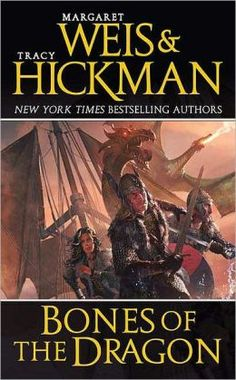 Bones of the Dragon (Dragonships of Vindras Series #1) by Margaret Weis and Tracy Hickman. Click on the cover to see if the book's available at Otis Library.
