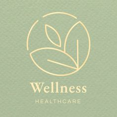 Healthcare center logo template vector | premium image by rawpixel.com Cosmetic Logo, Logo Spa, Logo Vert, Tea Logo, Reiki, Professional Business Card Design, Tea Brands, Health Logo, Branding