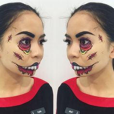 Cartoon Zombie by ladida22. Tag your pics with #Halloween and #SephoraSelfie on Sephora's Beauty Board for a chance to be featured!
