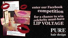 #Win celebrity must-have Dreamweave LipVoltage with Pure Hair Design! http://www.purehairdesignwarrington.com/win-celebrity-must-have-dreamweave-lipvoltage-with-pure-hair-design/