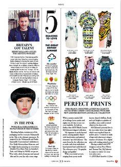 ASOS magazine - column layout