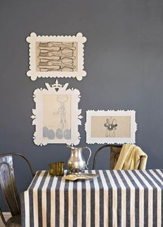 Idees vir jou muur  SARIE  Ideas for your wall #decor #diy #wall # ...