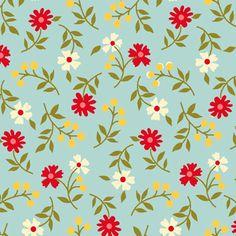 Tecido Nacional para Patchwork - 100% algodão - Amor em Flor - AF6139-2 :: Eva e Eva Tecidos Para Patchwork
