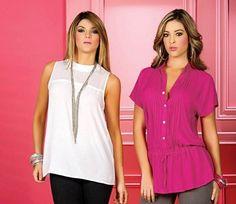 <p>Seguimos mostrando estas preciosas blusas elegantes y casuales para que estés hermosa en todo momento, si quieres lucir juvenil y muy femenina entonces estas blusas pueden ser la opción perfecta que e</p>