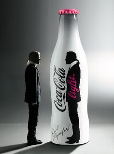 Karl Lagerfeld & Coca Cola light
