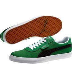 GV Vulc Low City Sneakers in amazon-black #PUMA #mens #shoes $65.00