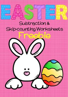 This freebie is a sample of my Easter Maths Subtraction and Skip-counting resource which can be purchased through my store.This free version contains 1 of my Easter Subtraction worksheets (in both colour and black and white), ready to be printed for use in the classroom.