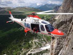 HEMS base PIEVE DI CADORE - Dolomites - Italy by EMS Flight Crew, via Flickr