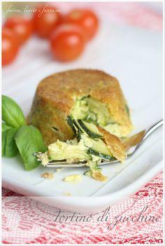 Farina, lievito e fantasia: Tortino di zucchine
