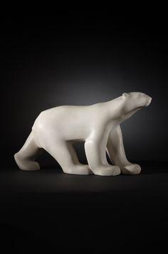François Pompon, L'Ours Blanc, 1927
