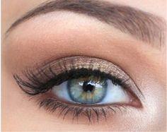 delikatny makijaż dla niebieskich oczu - Szukaj w Google