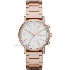 Ladies DKNY SoHo Chronograph Watch NY2275