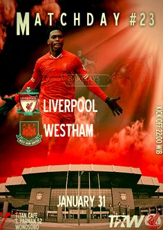 Liverpool vs Westham