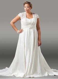 A-Line/Princess Sweetheart Court Train Taffeta Wedding Dress With Lace Beading Flower(s)