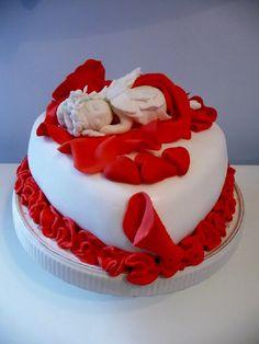 Sonia Mascioli #cakedesign #sanvalentino Cake, Desserts, Food, Tailgate Desserts, Deserts, Kuchen, Essen, Postres, Meals