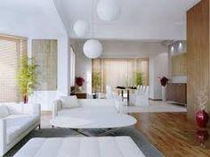 Modern Beach House Interior modern beach house interior with area rugs and wooden floor