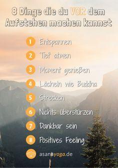 8 Dinge die du VOR dem Aufstehen machen kannst