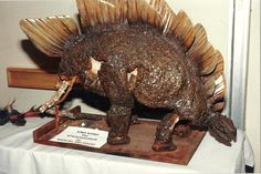 Another view of the Stegosaurus model from Kong.