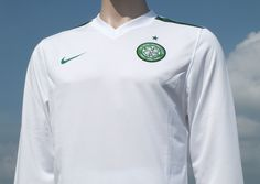 Celtic F.C. Nike International Away Shirt Season 2009-2010 Player Issue Celtic Tartan Unsponsored Long Sleeved