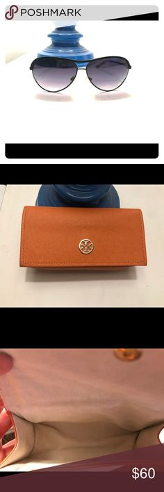 Tory Burch Black Sunglasses Mint condition! Comes with Tory Burch case that is lined with suede. Tory Burch Accessories Sunglasses
