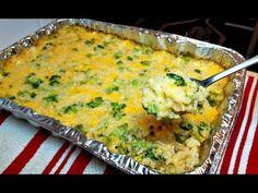 Broccoli Cheese And Rice Casserole Recipe Broccoli Cheese Rice Casserole, Broccoli Rice, Broccoli Recipes, Broccoli And Cheese, Casserole Dishes, Casserole Recipes, Chicken Casserole, Rellenos Recipe, How To Make Broccoli