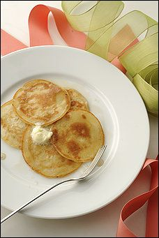 Shaffer- Style Sourdough Pancakes - These pancakes can be put to sweet or savory use. Variations include cinnamon & sugar roll-ups and cheese pancakes.