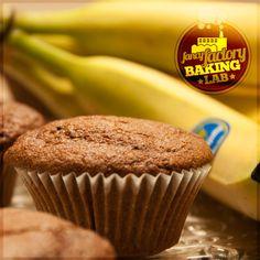 Fancy Factory Baking Lab: Muffin banana e cioccolato • Chocolate chips chocolate banana Muffin