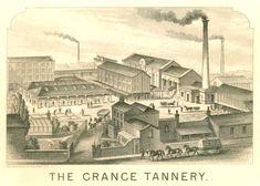 A Bermondsey tannery, 1876
