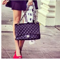 CHANEL. I want one of these vintage purses